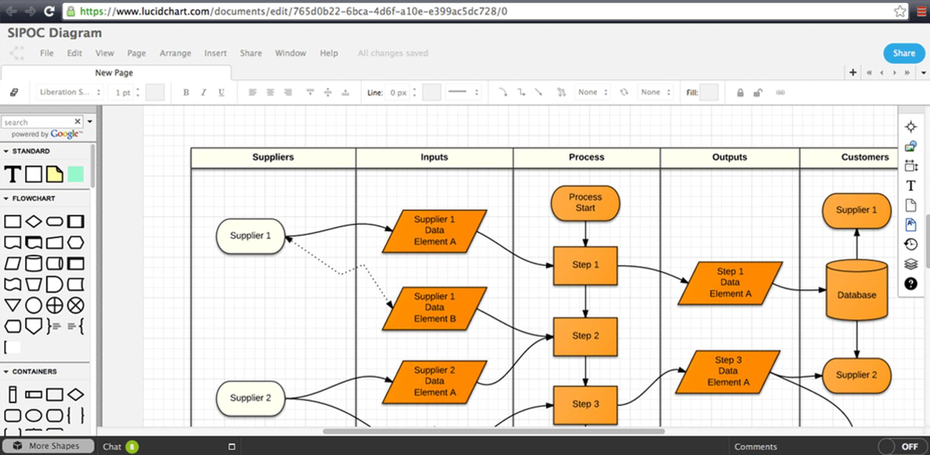 Microsoft Office Flowchart Powerpoint Swimlane Flowchart
