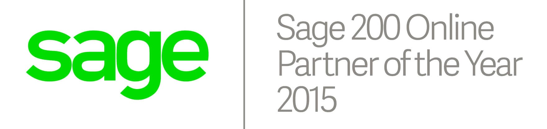 Sage 200 Online Partner of the Year 2015
