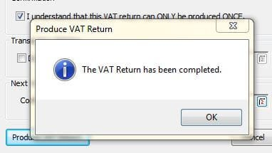 How to do a VAT Return in Sage 200 Image 3