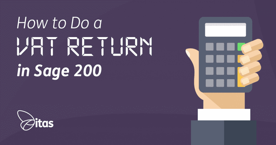 how to do a vat return in sage 200