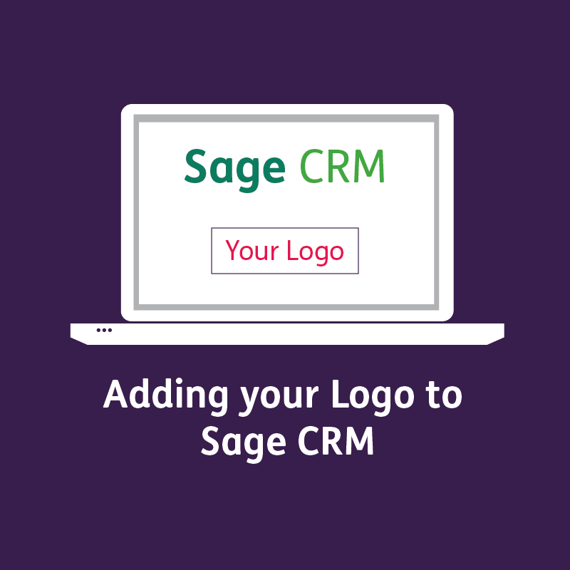 Adding your logo to Sage CRM