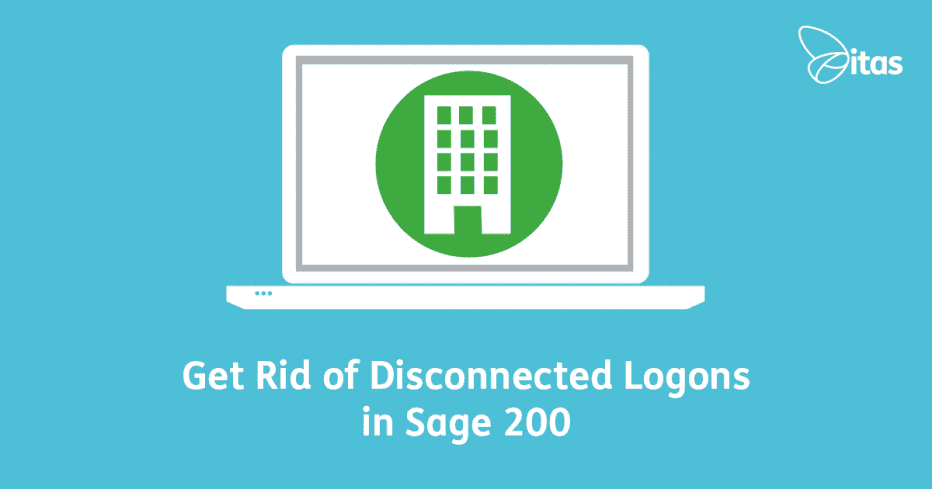 get rid of disconnected logons in sage 200
