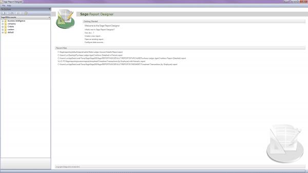 Sage 200 Report Designer - Basic Guide - Sage UK