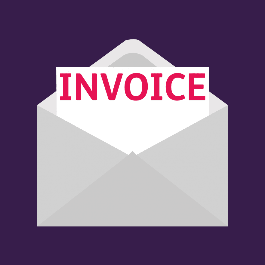 Creating an invoice blog