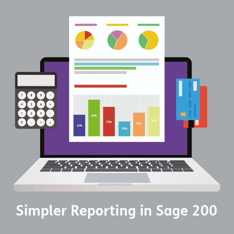 Simpler reporting in Sage 200 Invoice listing report