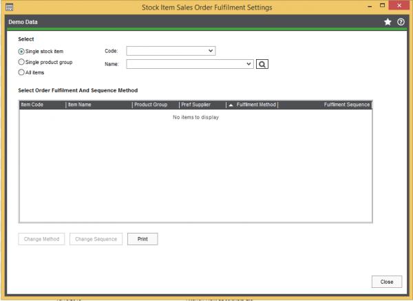 sales order settings