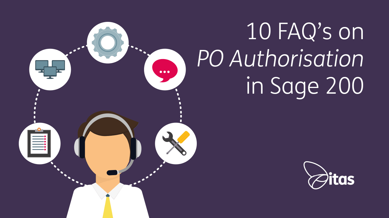 10 Frequently Asked Questions on PO Authorisation in Sage 200