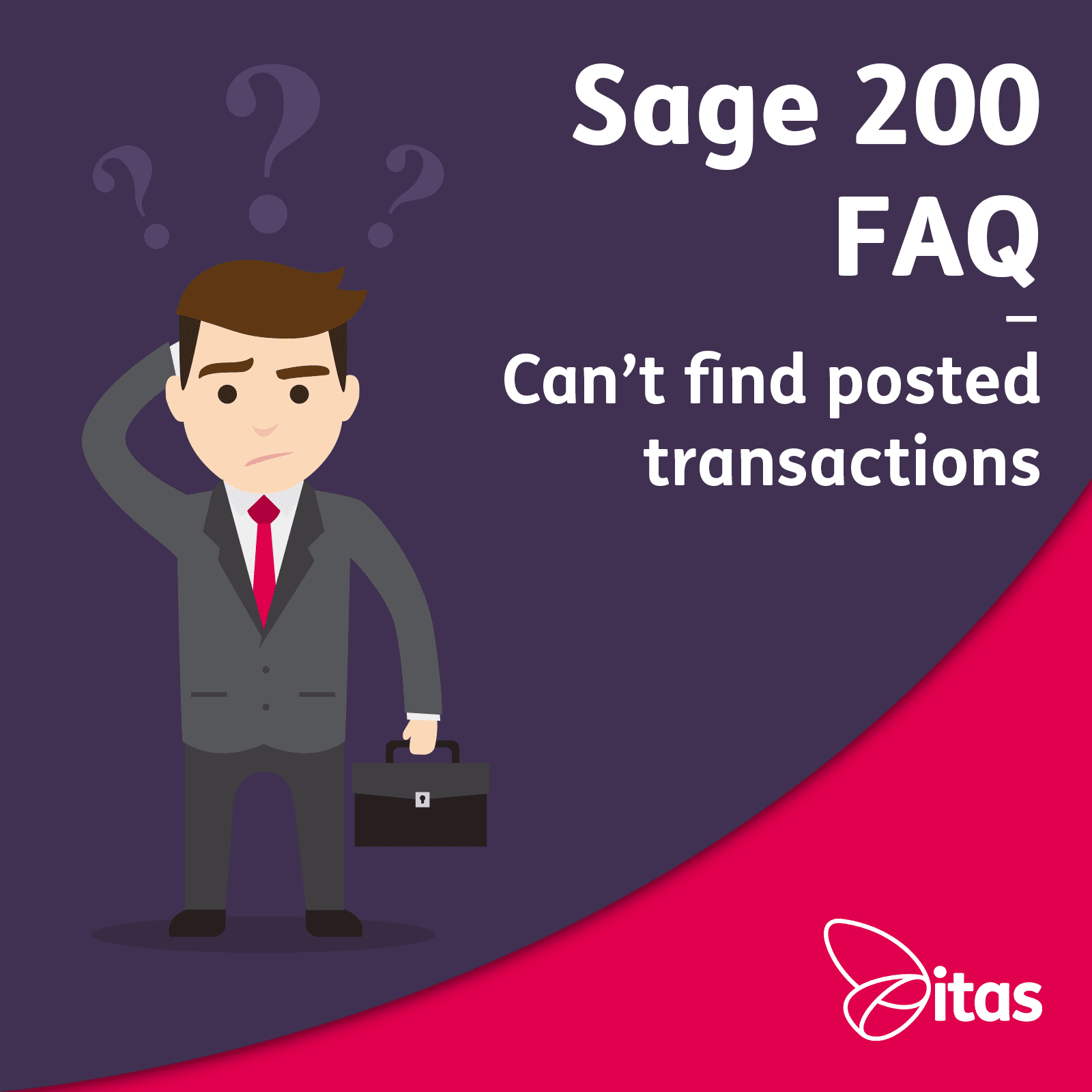 Can't Find Posted Transactions in Sage 200 - FAQ