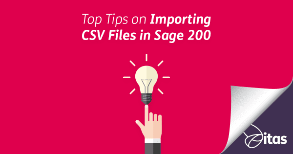 Top Tips on Importing CSV Files in Sage 200