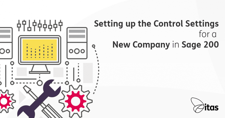 setting up control settings for new company image