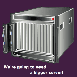 We're going to need a bigger server - One Risk Management