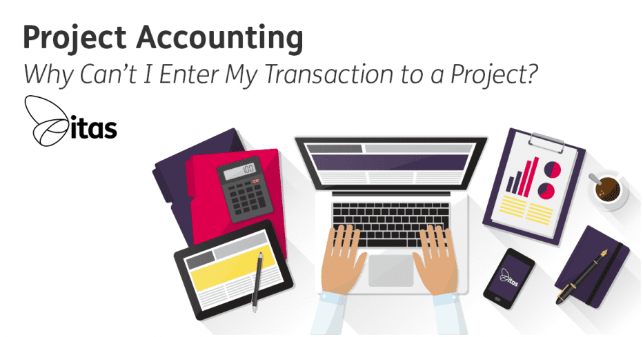 enter a transaction project accounting