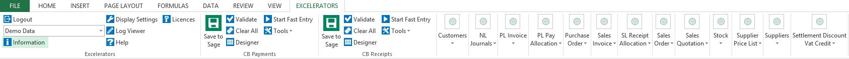 Excel Tab