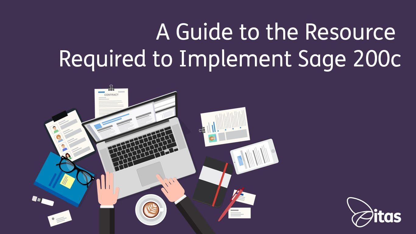 A Guide to the Resource Required to Implement Sage 200c