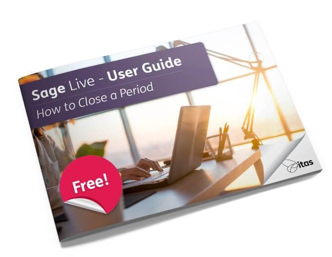 Close a Period Sage Live user guide