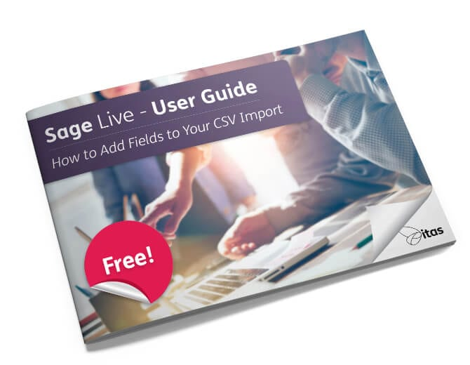Add Fields to Your CSV Import Sage Live user guide