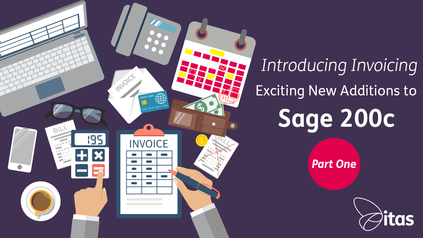 Introducing Invoicing | Exciting New Additions to Sage 200c - Part 1
