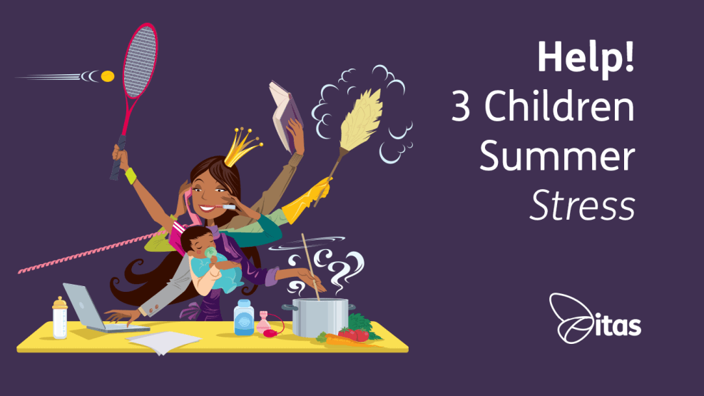 Help 3 Kids Summer Stress
