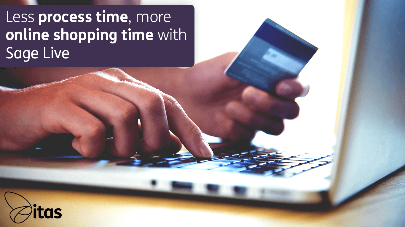 Less process time, more online shopping time with Sage Live!