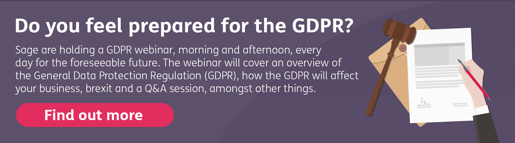 Do you understand how the GDPR affects your business? - Sage UK