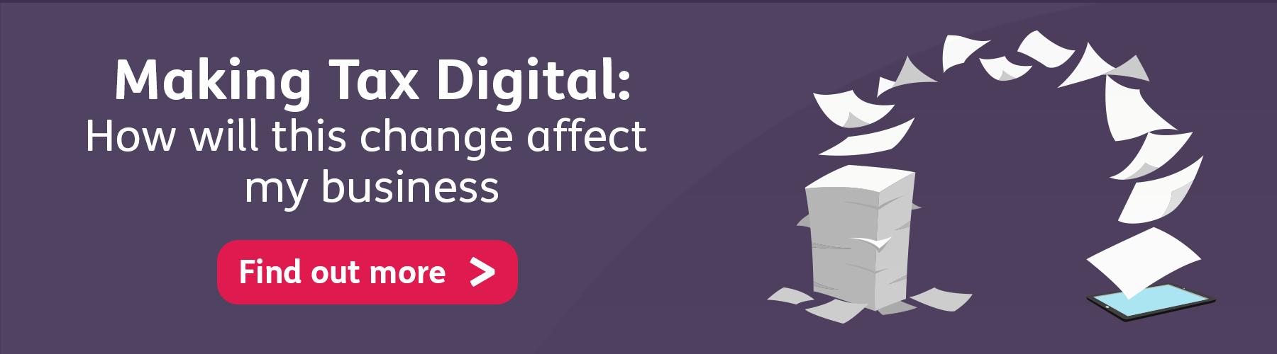 Making Tax Digital blog banner