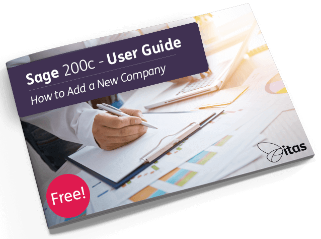 How to Add a New Company in Sage 200c