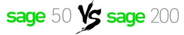 Sage 50 VS Sage 200 Blog