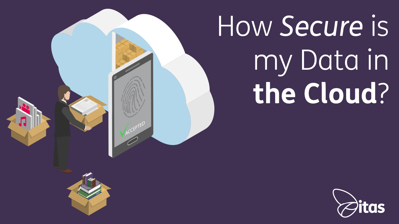 how secure is my data in the cloud blog