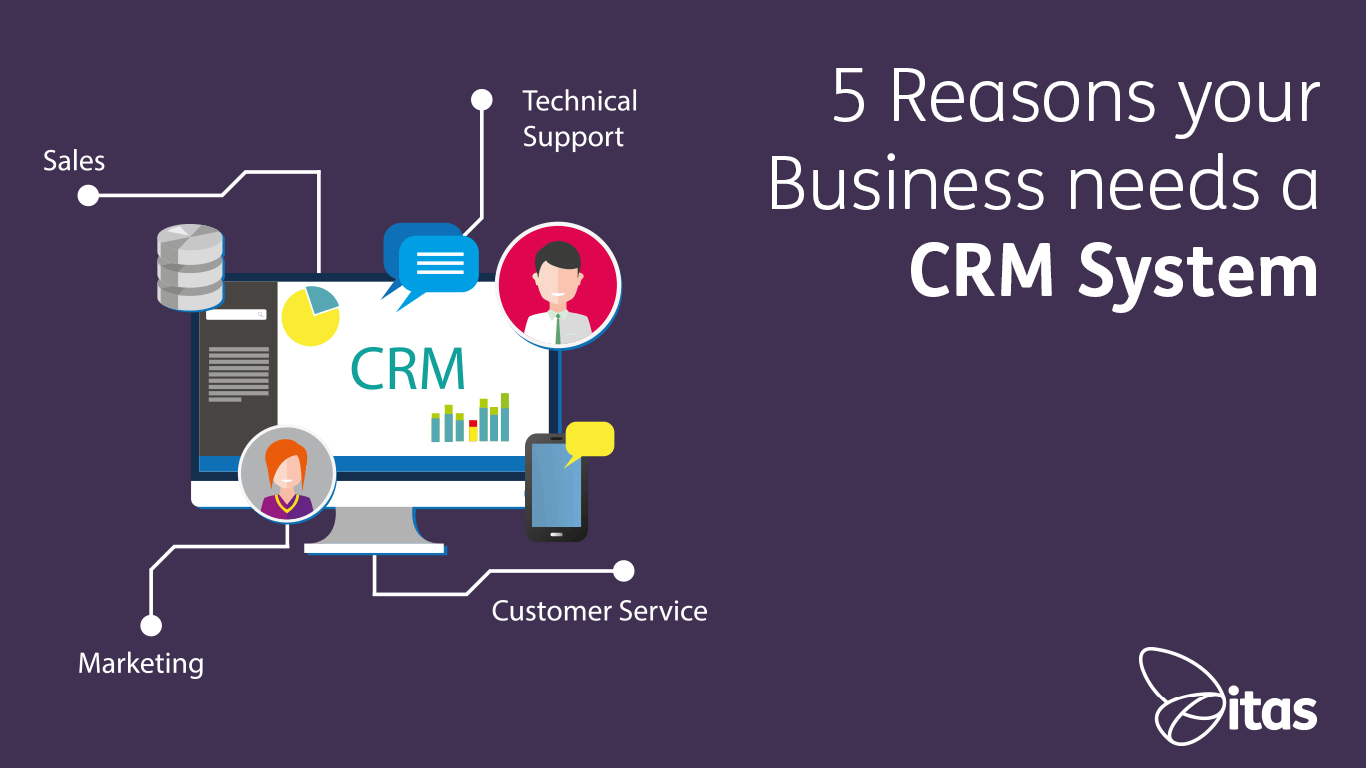 5 Reasons your Business needs a CRM System