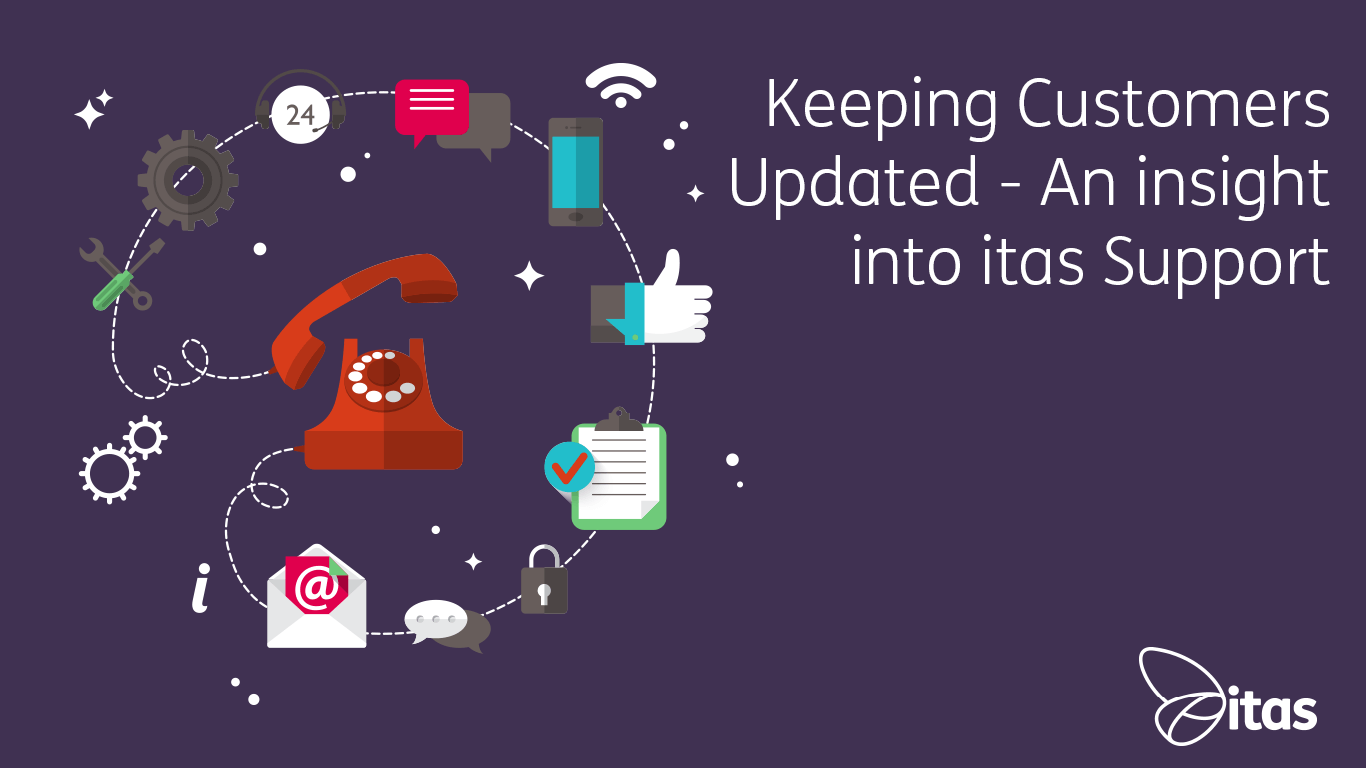 Keeping Customers Updated | An insight into itas Support