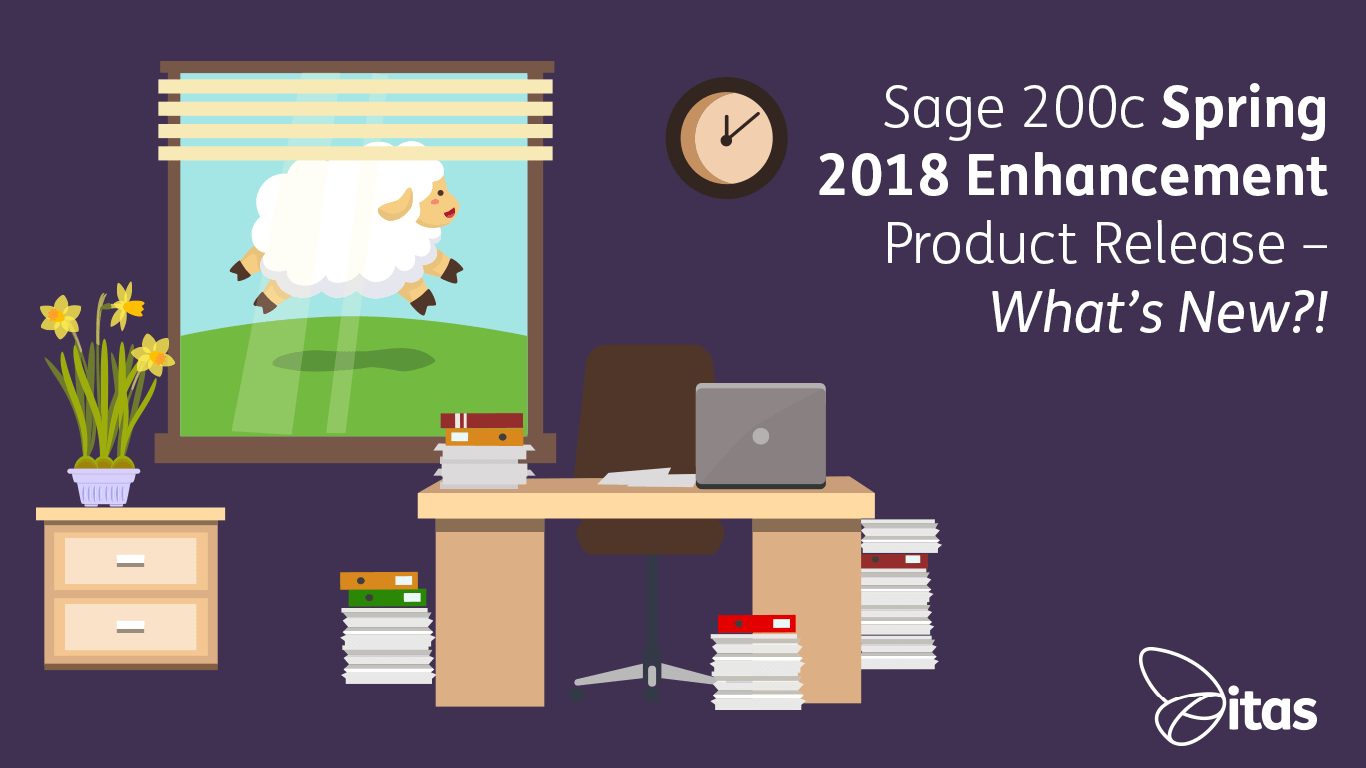 Sage 200c Spring 2018 Enhancement Product Release – What's New?!