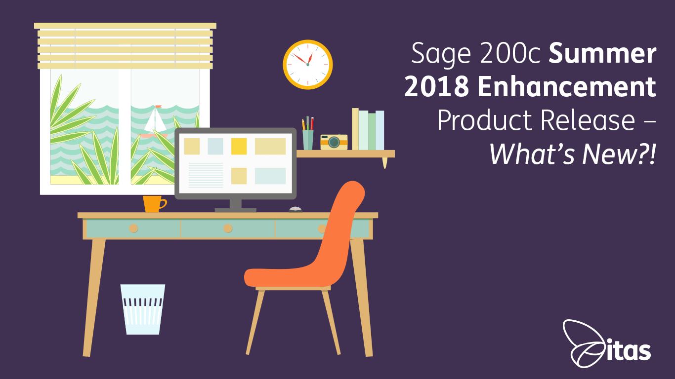 Sage 200c Summer 2018 Enhancement Product Release - What's New?!