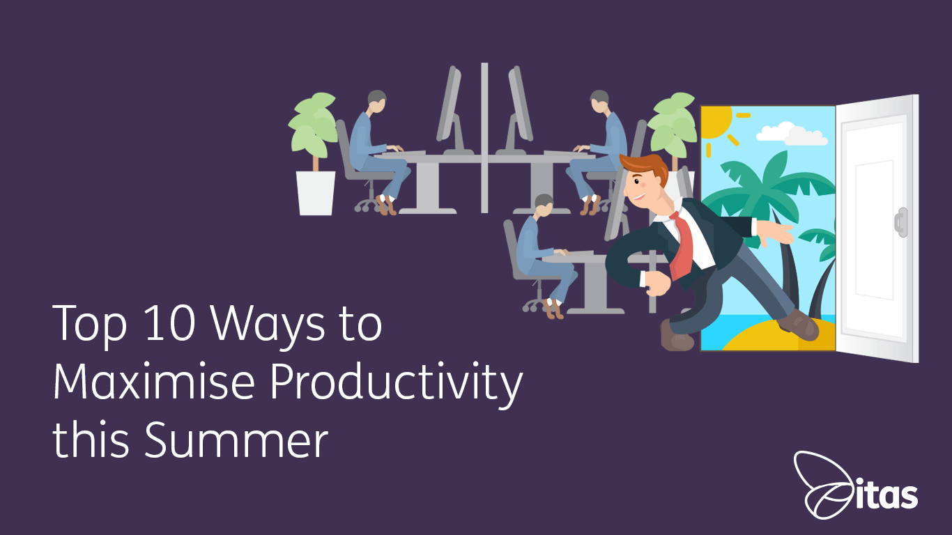 Top 10 Ways to Maximise Productivity this Summer