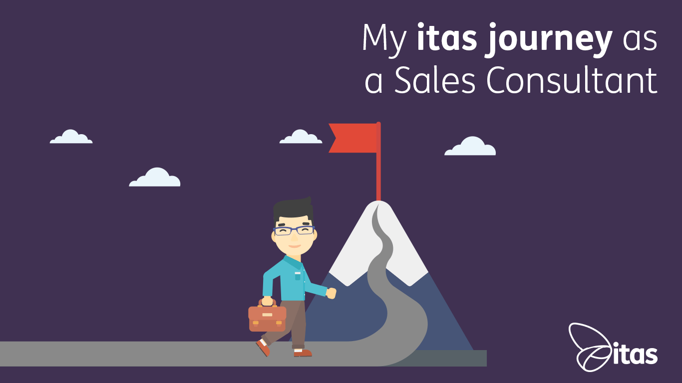 My itas journey as a Sales Consultant