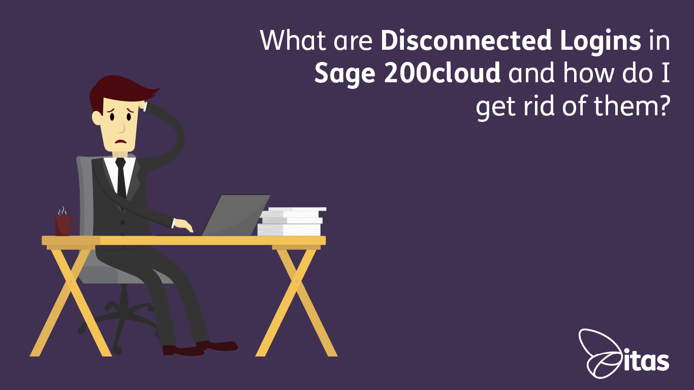 What are Disconnected Logins in Sage 200cloud and how do I get rid of them?