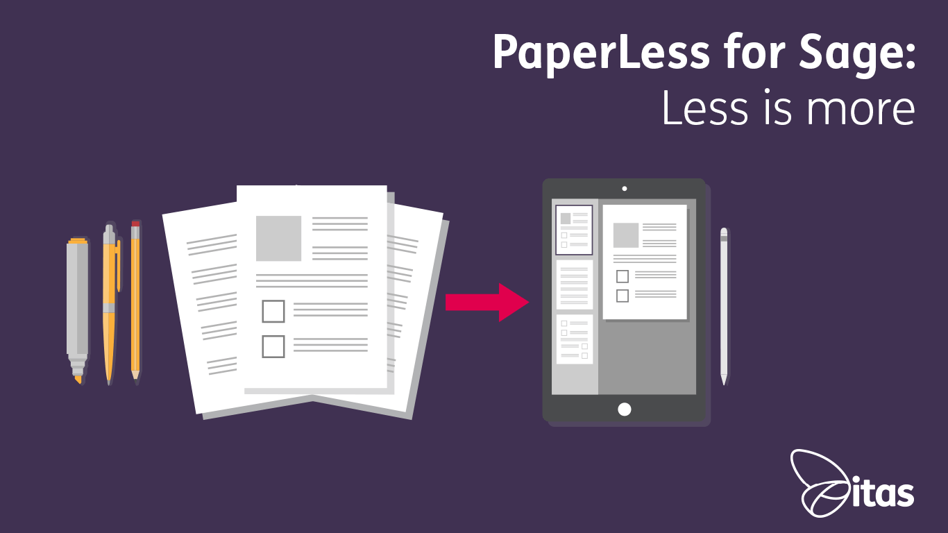 PaperLess for Sage: Less is more