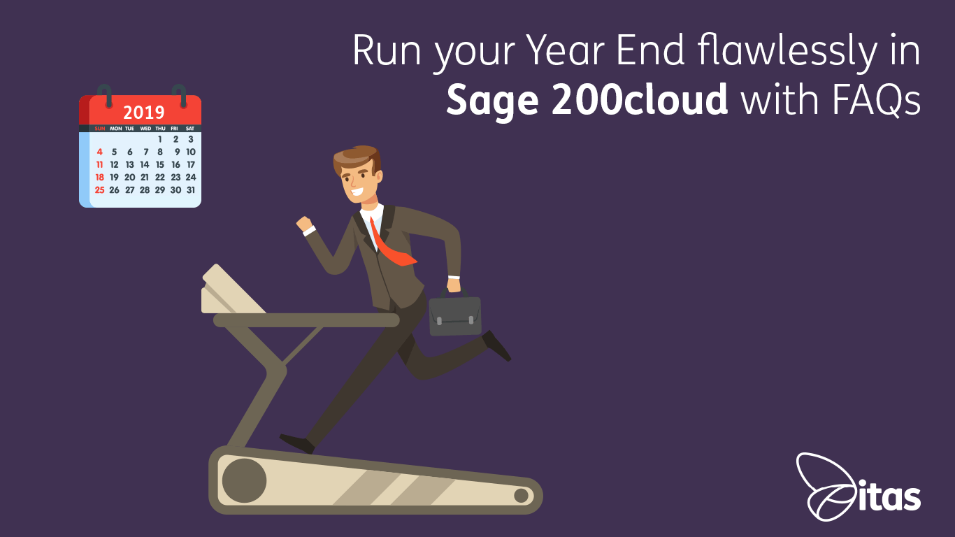 Run your Year End flawlessly in Sage 200cloud with FAQs
