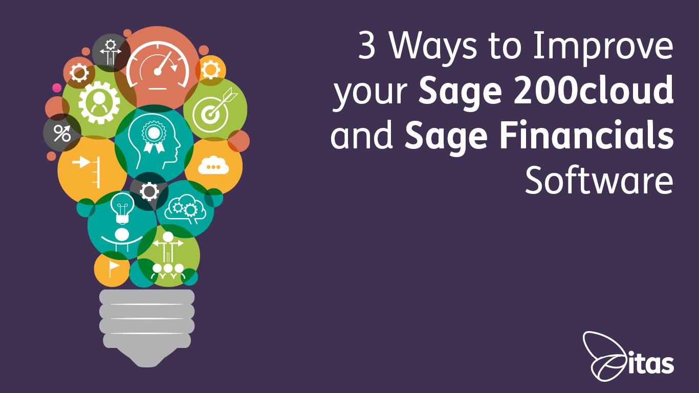 3 Ways to Improve your Sage 200cloud and Sage Financials Software