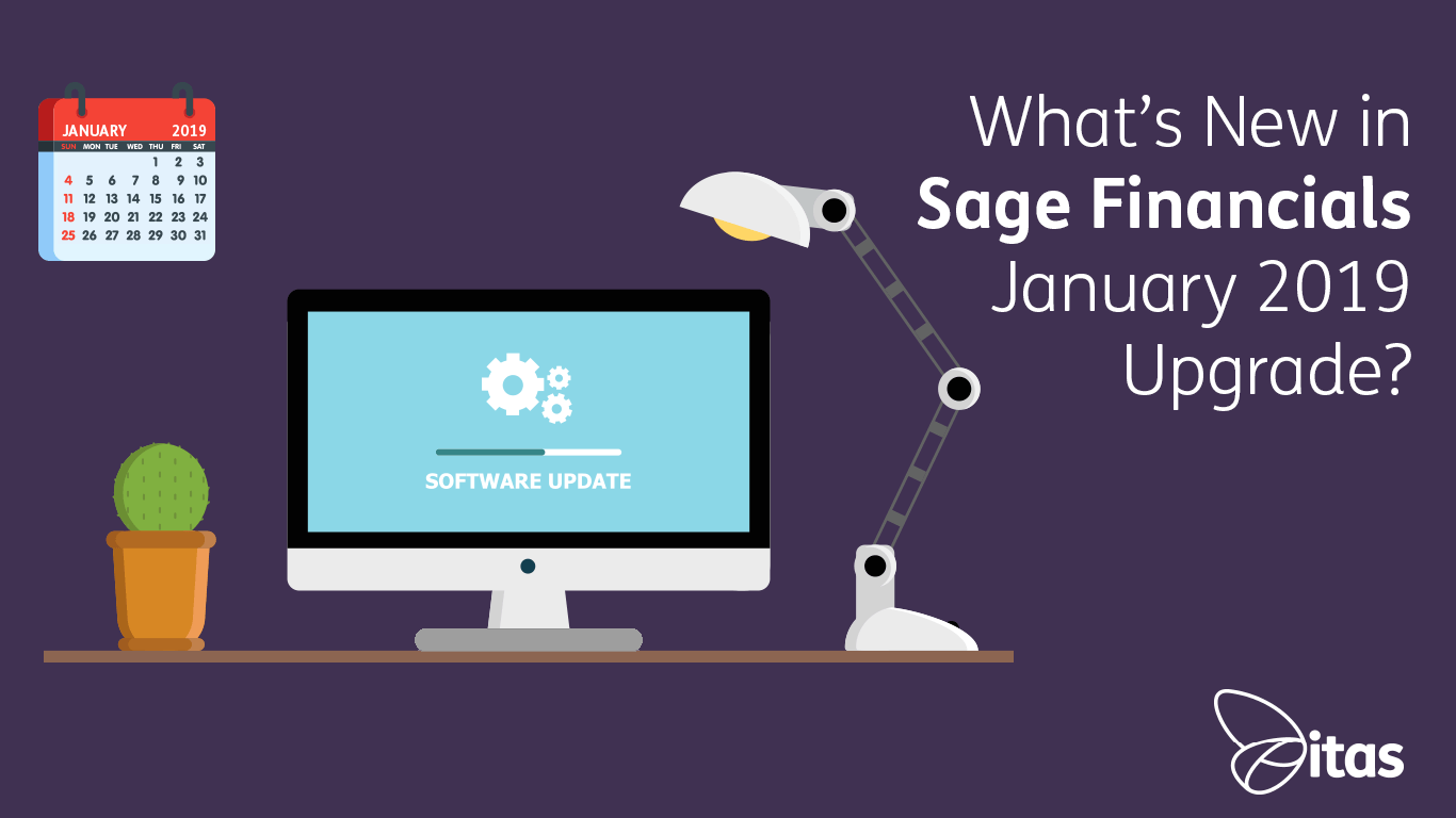 Sage Financials: What's New in Sage Financials January 2019 Upgrade?