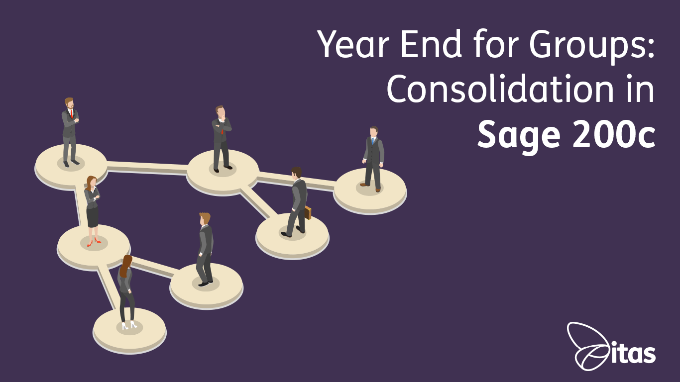 Year End for Groups - Consolidation in Sage 200cloud