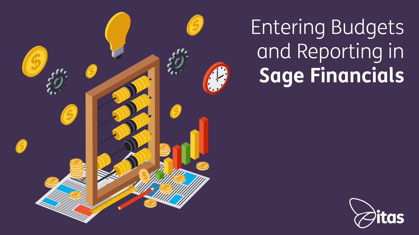Entering Budgets and Reporting in Sage Financials