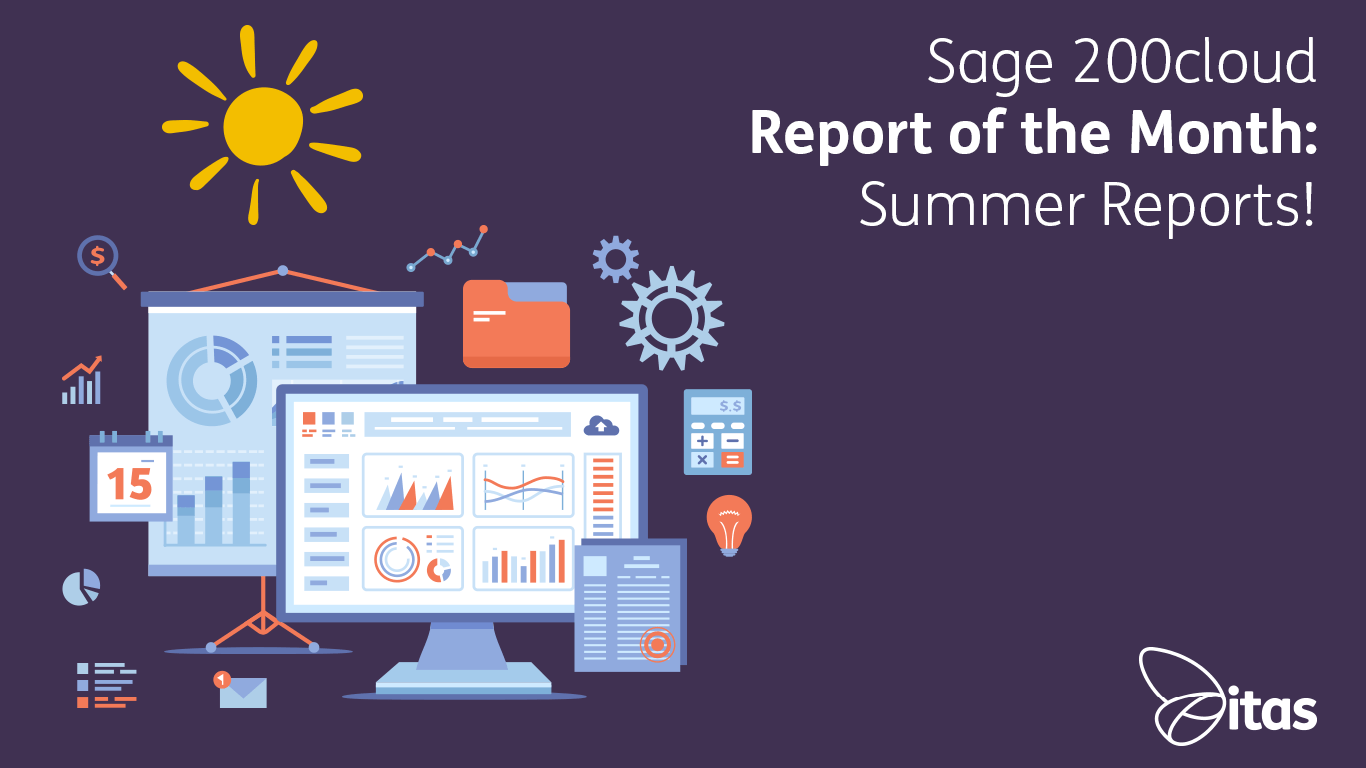 Sage 200cloud Report of the Month – Summer Reports 2019!