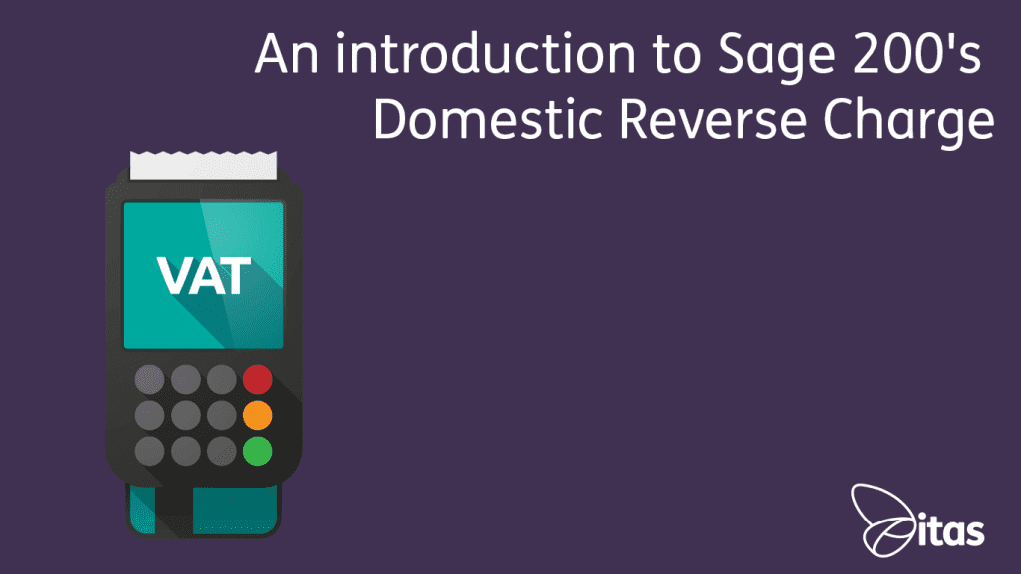 Sage 200 Domestic Reverse Charge Blog
