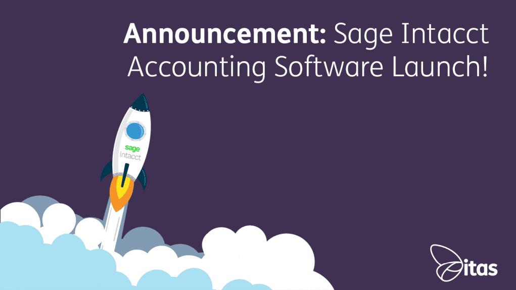 Announcement Sage Intacct Launch