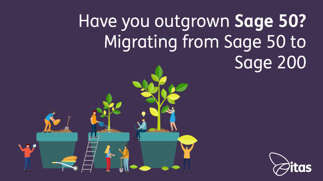 Have you outgrown Sage 50? Migrating from Sage 50 to Sage 200