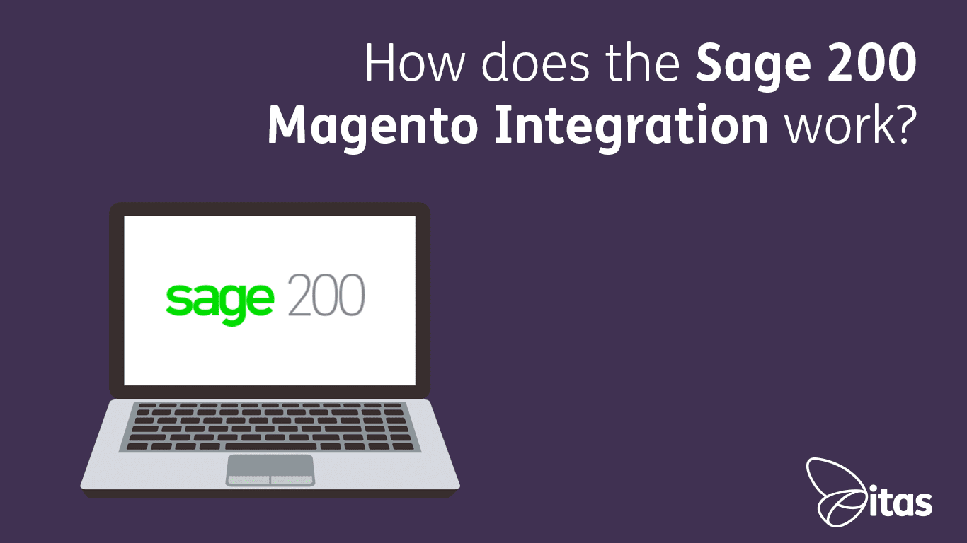 How does the Sage 200 Magento Integration work?