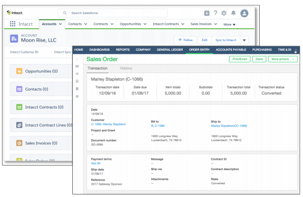Sage Intacct API Integration
