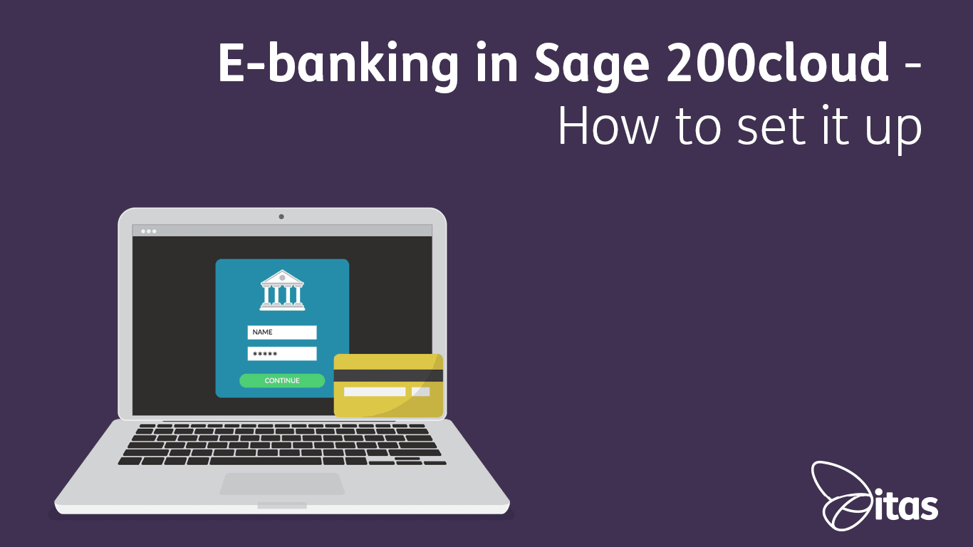 E-banking in Sage 200cloud - How to set it up