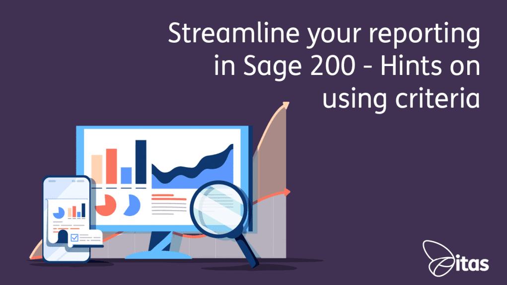 Sage 200 Streamline Reporting