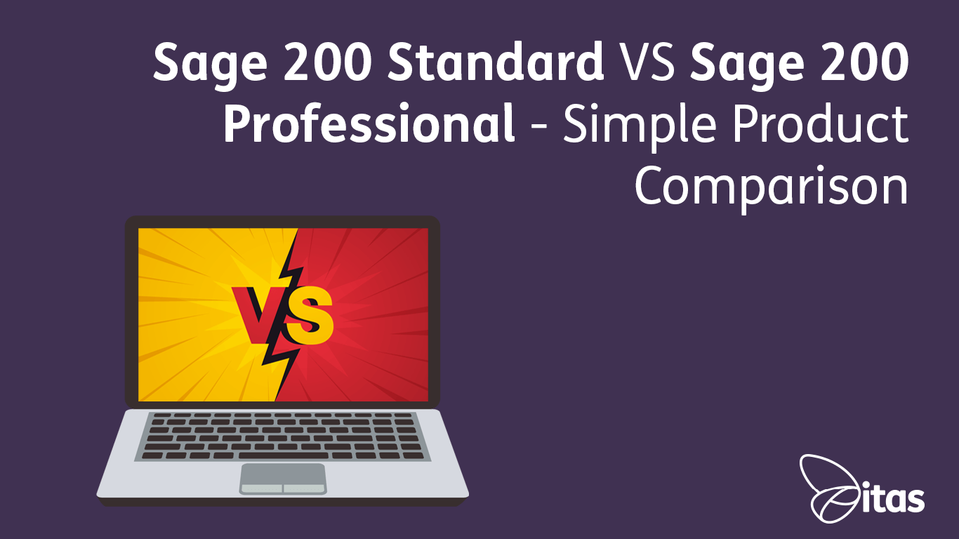 Sage 200 Standard VS Professional - Simple Product Comparison